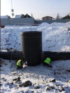 После ремонта канализация в Северном прослужит сто лет — Водоканал (ФОТО)